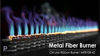 Blueflame Circular Ribbon Gas Burner MFB10R-42 l PP Systems