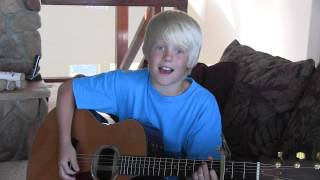 One Direction - One Thing by 11 year old Carson Lueders