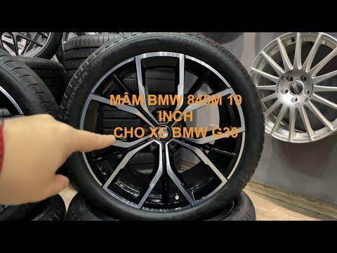 Trên tay Mâm BMW 845M 19 inch cho xe BMW 5 series G30 Model 2021 - 091.494.6789
