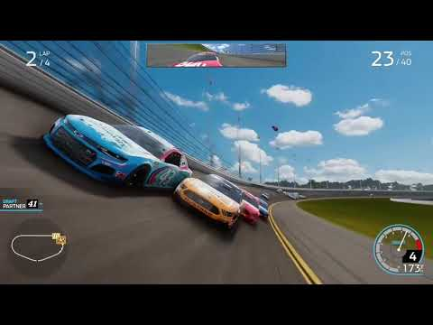 NASCAR HEAT 5 CRASH COMPILATION [15 MINS VIDEO SPECIAL] |