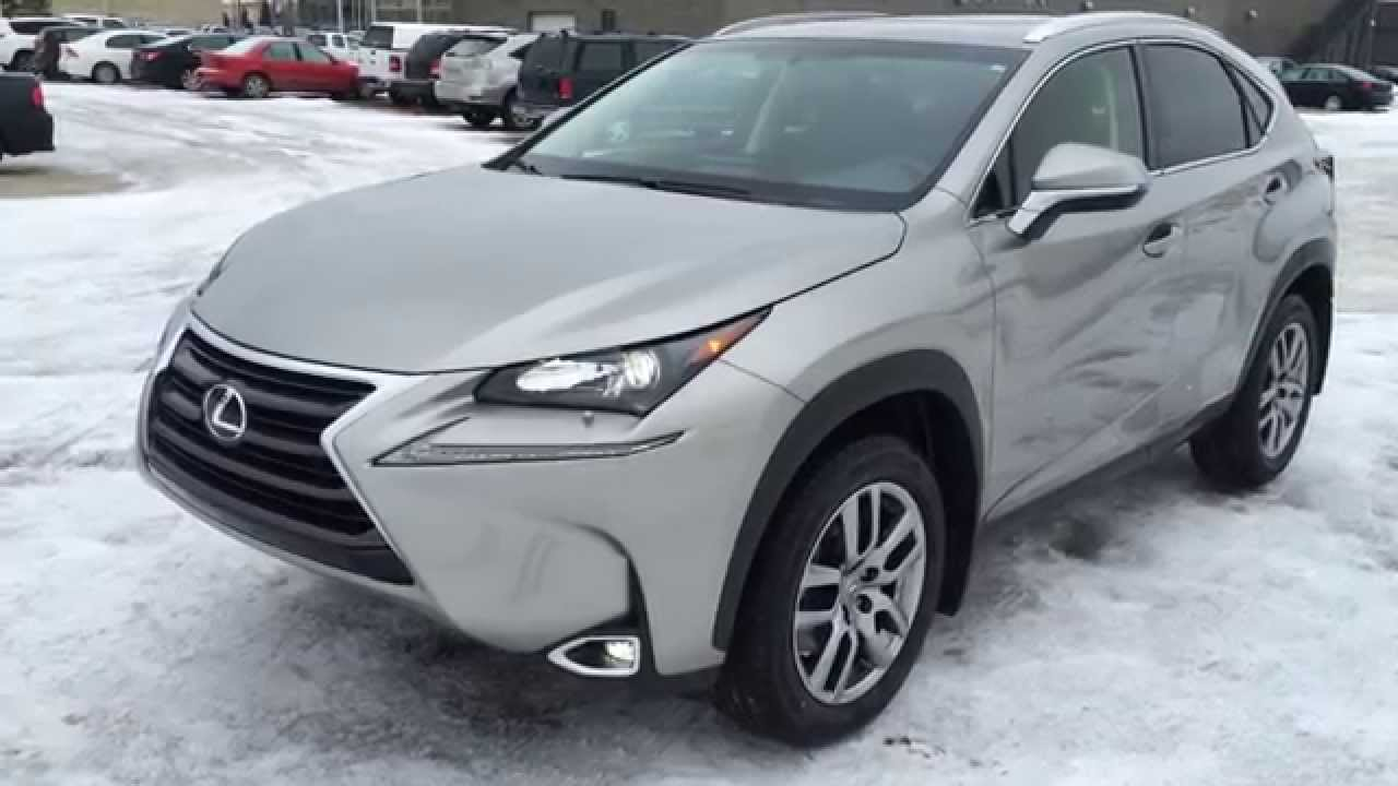 New Atomic Silver 2015 Lexus Nx 200t Awd  Premium Package