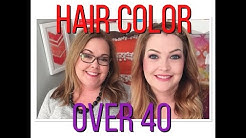 "Hair Talk- How to have ""age appropriate"" hair color over 40-"