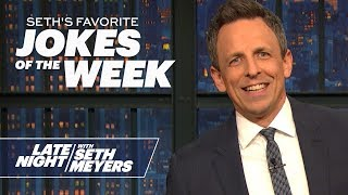 Seth's FavoriteJokesoftheWeek: Sen. Romney's Chocolate Milk, Kentucky Sex Ed Bill