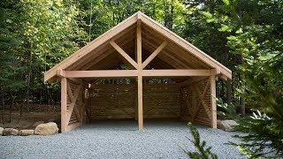 How To Build A Real Cedar Carport In A Weekend