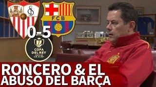 Sevilla 0-5 Barcelona  Roncero y los goles del Bara en la Final de Copa 2018  Diario AS