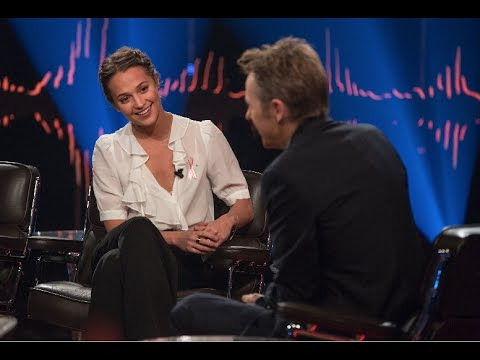 Interview with Alicia Vikander 2016 | Skavlan | English subtitles