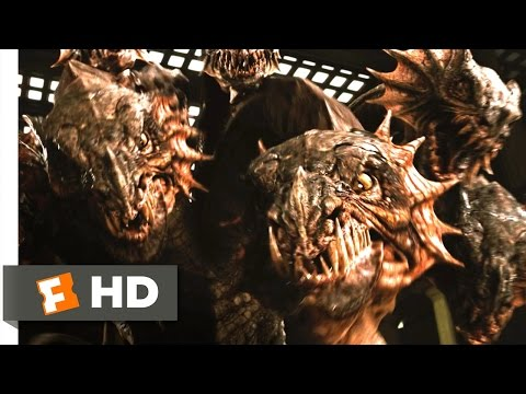 Percy Jackson & the Olympians (4/5) Movie CLIP - The Museum Hydra (2010) HD