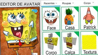 We CREATED the SPONGE BOB PROFILE in ROBLOX