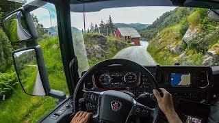 POV Driving Scania S520 - Stadlandet