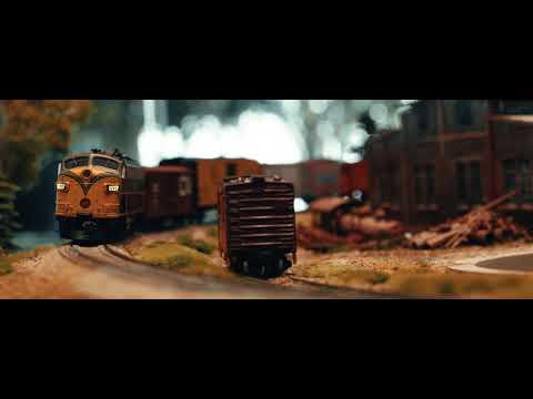 David Lee's Model Railroad Train Set at the McMaster Downtown Health Campus