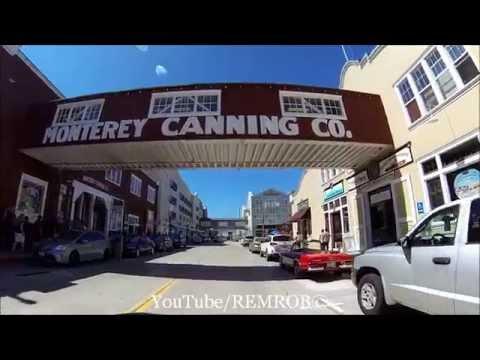 Driving Monterey, California