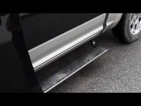 Amp Running Boards >> Retraction problem AMP Power Steps From Electricstep.com - YouTube