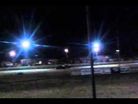 Jesse's Fourth Race at Madras Speedway