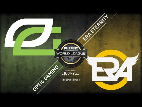ERa Eternity Vs OpTic Gaming | CWL Pro League  | Stage 1 | Week 5 | Day 1