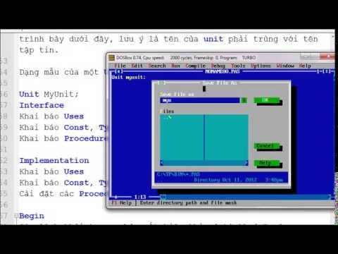 Lập trình Pascal  Bài 8   Unit P2   Vietsource net