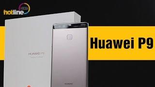 huawei P9  обзор смартфона с двумя основными камерами