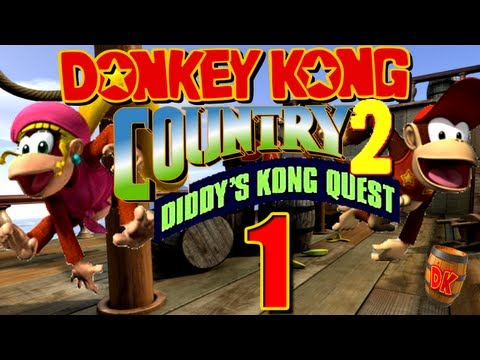 Donkey Kong Country 2 - Let's Play Donkey Kong Country 2 Part 1: Diddy's Kong Quest