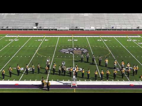 Liberty High School Band 2012 - UIL Region 10 Marching Contest