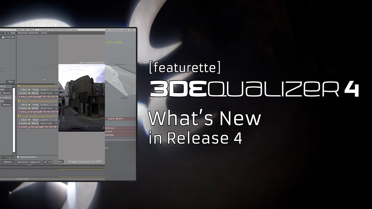 3dequalizer4 release 4