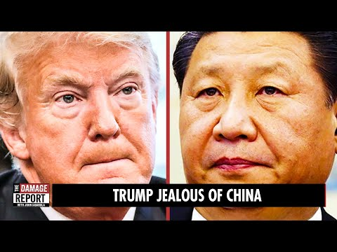 Trump JEALOUS of China
