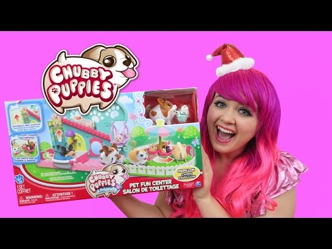 Chubby Puppies & Friends Pet Fun Center + Puppy Stroller | TOY REVIEW | KiMMi THE CLOWN
