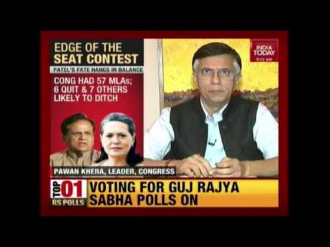 Gujarat All Set For Rajyasabha Elections