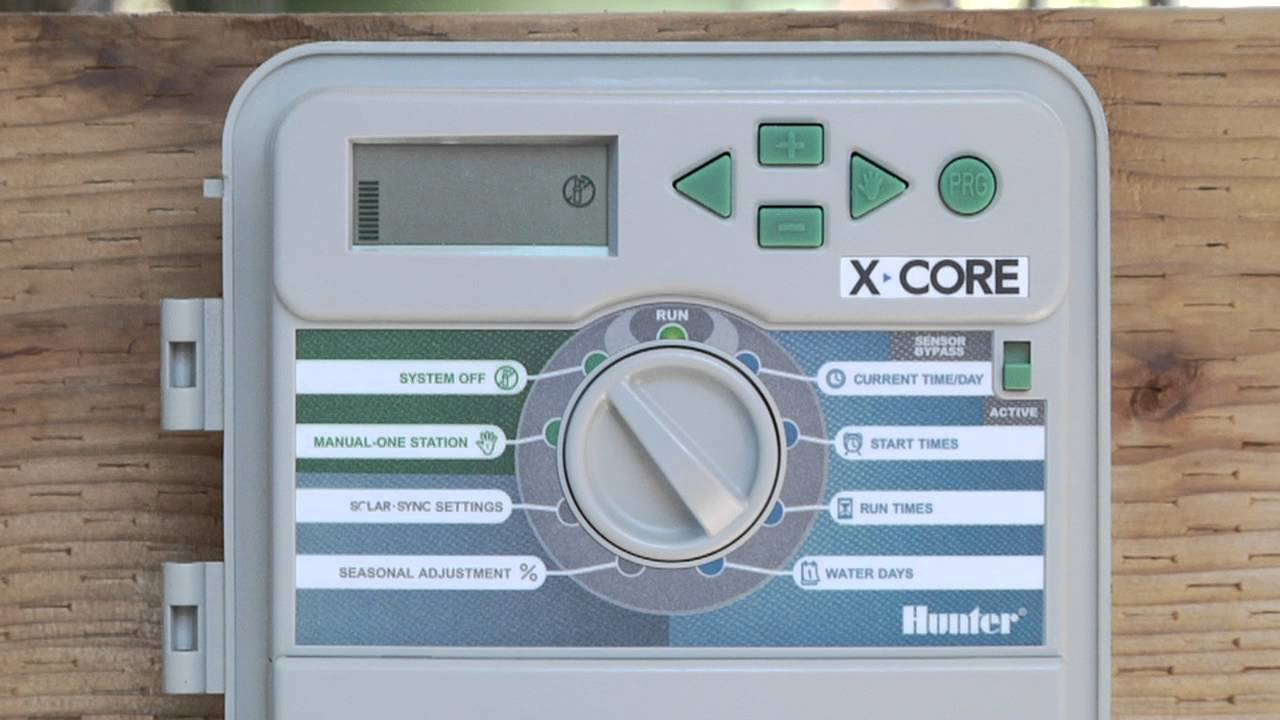 Wiring Irrigation Timer Electrical Diagram Sprinkler Box Hunter X Core Programming Multiple Programs And Additional Orbit