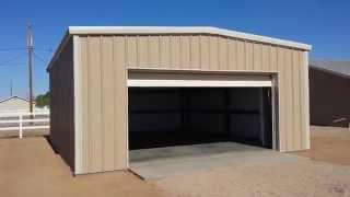 Pre-engineered Metal Garage San Tan Valley Az