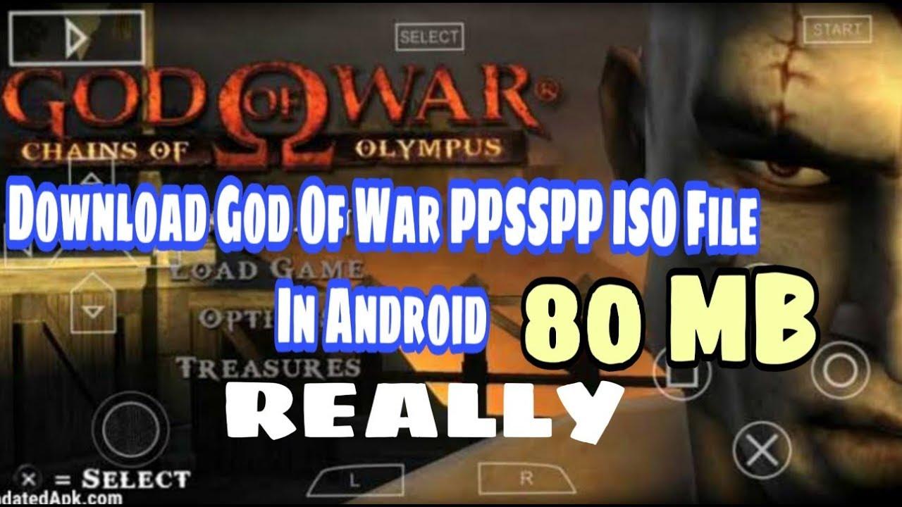 god of war highly compressed iso file