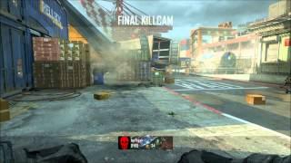 BlackOps 2 Multiplayer Gameplay Gun Game [NL]