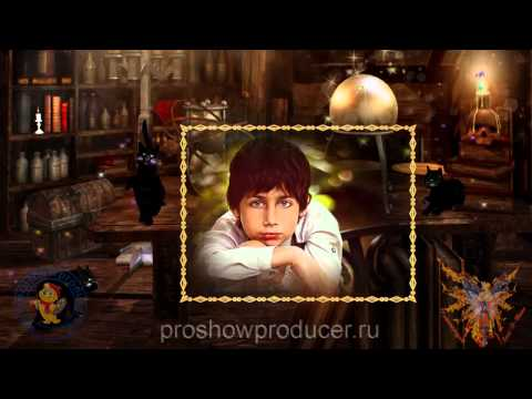 Волшебник - Project for  ProShow Producer 6