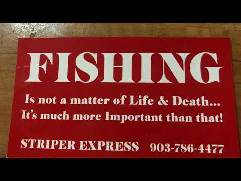 Lake Texoma Striper Fishing 2020-Water Temperatures-Slab Spoons-Lake Texoma Fishing Guides