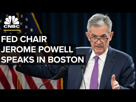 Fed Chair Jerome Powell Speaks in Boston - Oct. 2, 2018