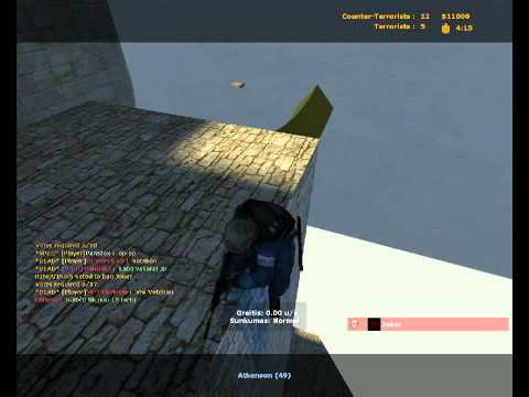 GANGNAM STYLE SPAM ON COUNTER STRIKE SOURCE