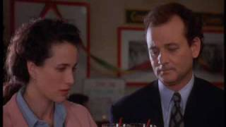 "Bill Murray - Best scenes from the movie ""Groundhog Day"" - 2"