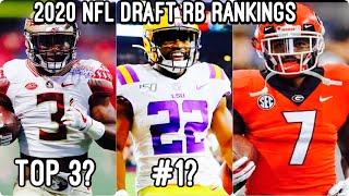 2020 NFL MOCK DRAFT 4.0: RB Rankings