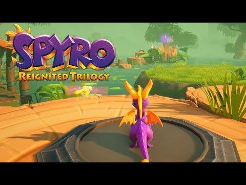 Spyro Reignited Trilogy - Spyro the Dragon 120% Walkthrough Part 21 - Misty Bog