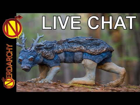 Nerdarchy Live Chat #77- Creature Curation with Brian Colin