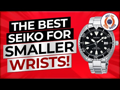 Seiko Mini Turtle - Best Seiko Diver For Smaller Wrists