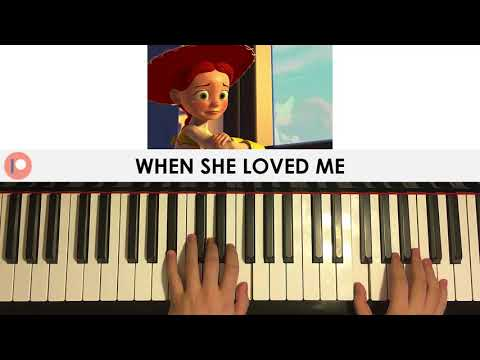 Toy Story 2 - When She Loved Me - Sarah McLachlan  (Piano Cover) | Patreon Dedication #285