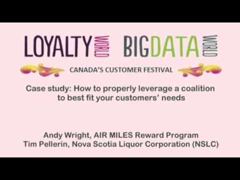 Loyalty programs: Leveraging a coalition to best fit custome