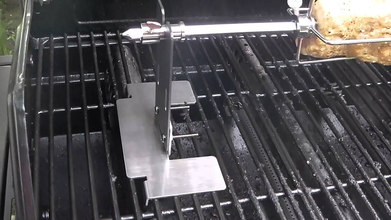4642b181a9a Char Broil Universal Rotisserie Review - YouTube