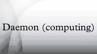 Daemon (computing)