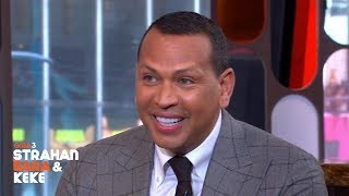 Alex Rodriguez On Meeting Ruth Bader Ginsburg, J Lo Elope Rumors