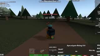 Apocalypse Rising hack gui niveau 7 [roblox]