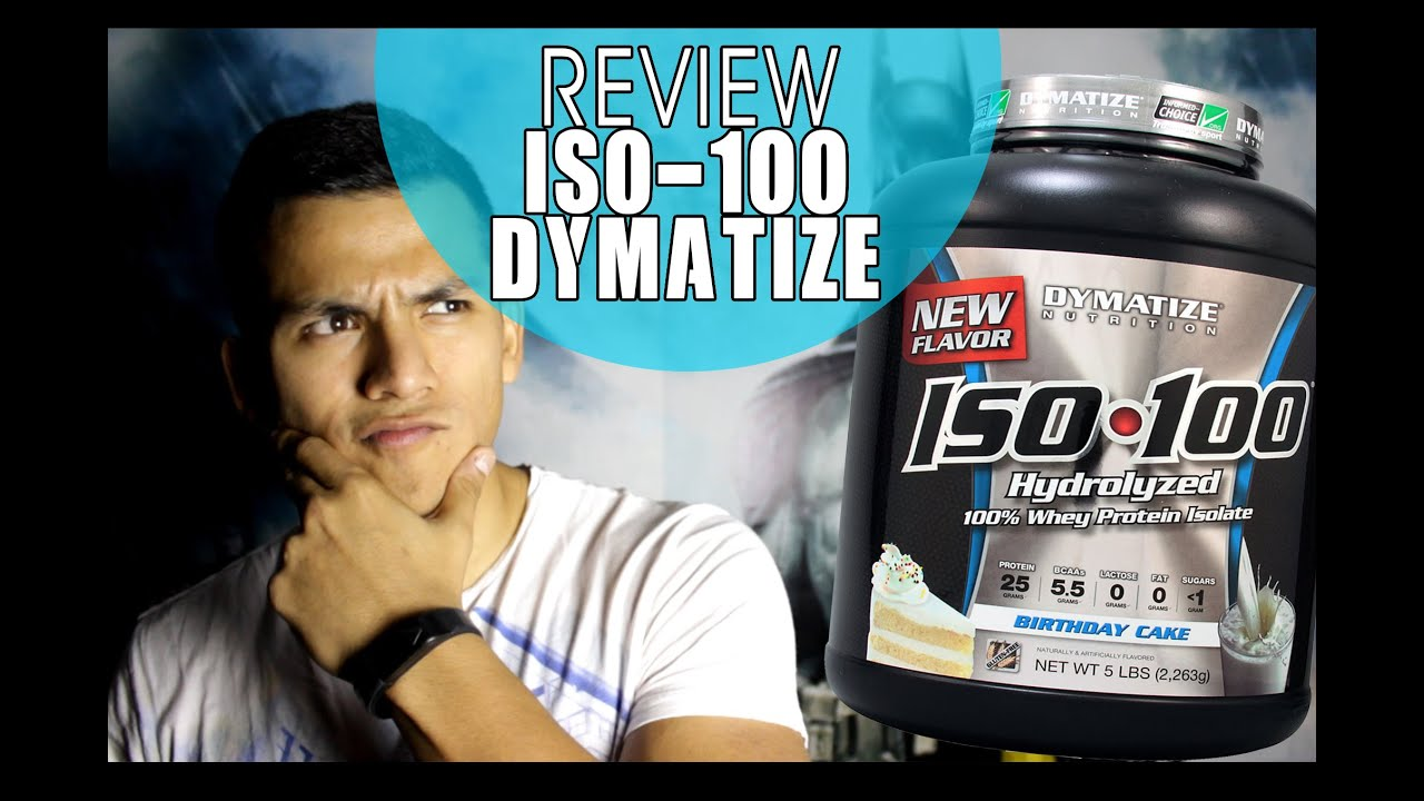 Dymatize Iso 100 Birthday Cake Review Youtube
