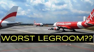 Airasia Seat Is Too Tight (Airasia AK712 KLIA to Singapore Changi Airport)