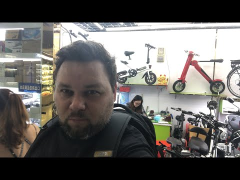 Электросамокаты и скутеры - оптовый рынок в Иу Китай