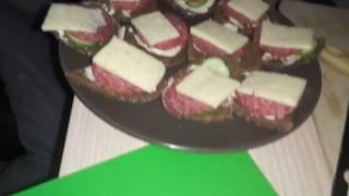 Обзор на бутерброды с колбасой