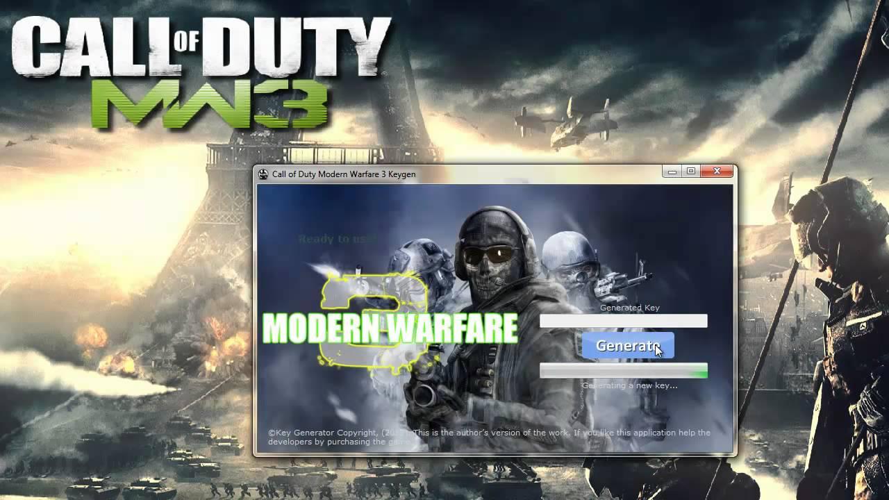 Latest Call Of Duty : Modern Warfare 3 Keygen Updated May 2012 Steam PC